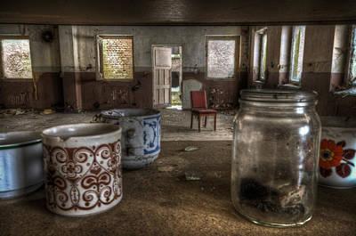 Creepy Digital Art - Mugs And Jar by Nathan Wright