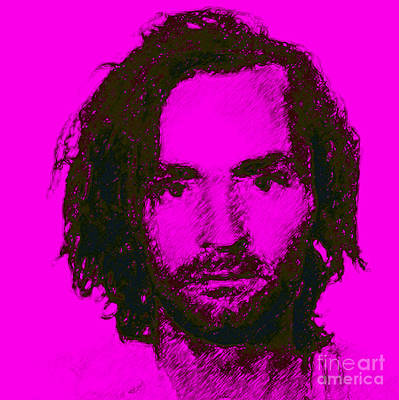 Alcatraz Photograph - Mugshot Charles Manson M88 by Wingsdomain Art and Photography