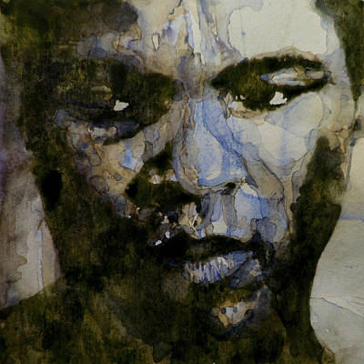 Lips Painting - Muhammad Ali  A Change Is Gonna Come by Paul Lovering