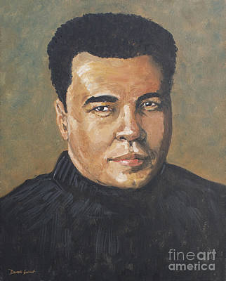 Art Print featuring the painting Muhammad Ali/the Greatest by Dwayne Glapion