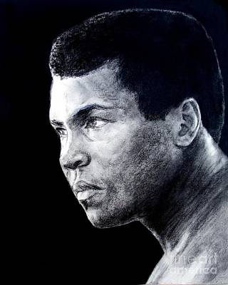 Drawing - Muhammad Ali Formerly Known As Cassius Clay IIi by Jim Fitzpatrick