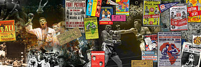 Muhammad Ali Panoramic Print by Retro Images Archive