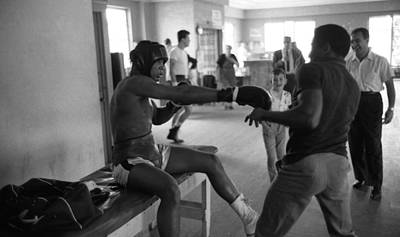 Muhammad Ali Playing Around Print by Retro Images Archive