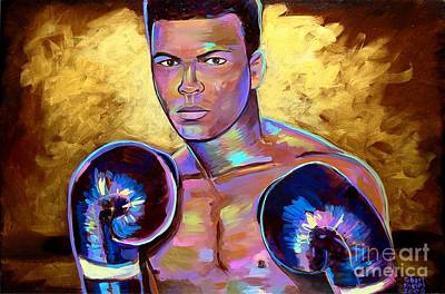 Painting - Muhammad Ali by Robert Phelps
