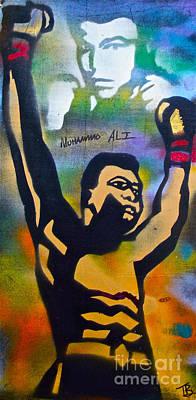 Conscious Painting - Muhammad Ali by Tony B Conscious