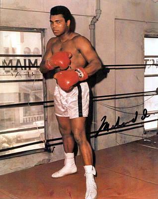 Muhammad Ali Art Print by Unknown