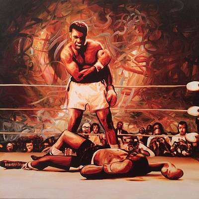 Photograph - Muhammad Ali Vs Sonny Liston May 25 by Ocean Clark