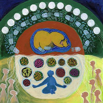 Muin's Feast Art Print by Faith Nolton