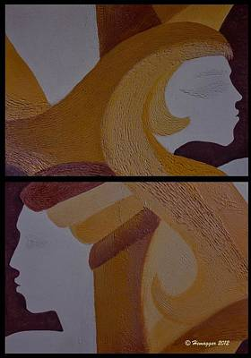Painting - Mujer Arriba by Hemu Aggarwal