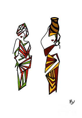 Mukazi Art Print