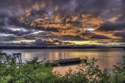 Photograph - Mukilteo Sunset by Spencer McDonald