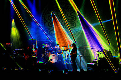 Photograph - Mule #35 Psychedelically Enhanced by Ben Upham