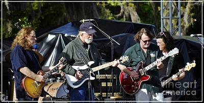 Photograph - Mule And Widespread Panic - Wanee 2013 1 by Angela Murray