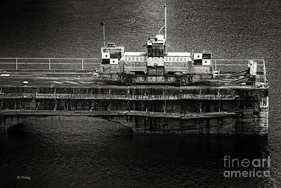 Photograph - Mule On The Pier Panama Canal by Rene Triay Photography