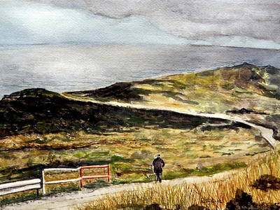 Painting - Mull Of Kintyre by Betty-Anne McDonald