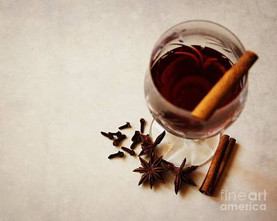 Photograph - Mulled Wine I by Katerina Vodrazkova