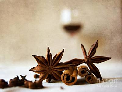 Photograph - Mulled Wine IIi by Katerina Vodrazkova