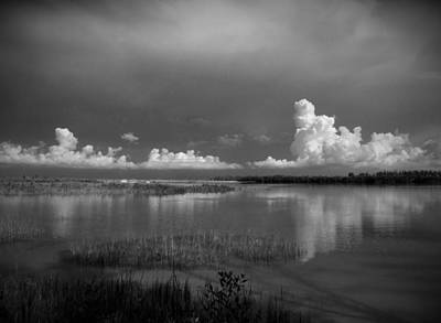 Monochrome Photograph - Mullet Key Number 4 by Phil Penne