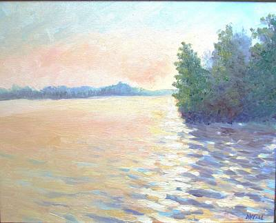 . Pinelands Painting - Mullica by Dora Todd