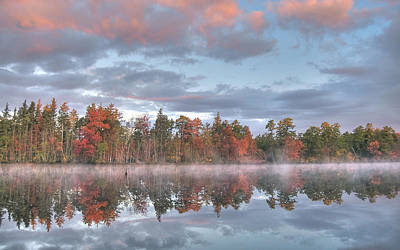 Photograph - Mullica River Sunrise by Greg Vizzi