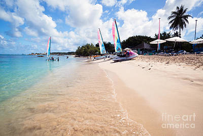 Scenic Photograph - Mullins Bay Beach In The Barbados - Caribbean by Matteo Colombo