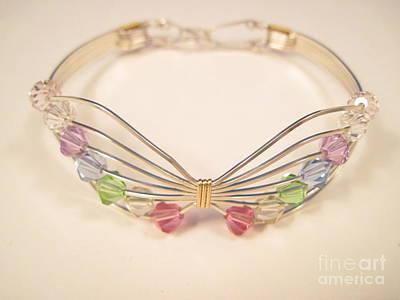 Argentium Jewelry - Multi Butterfly Bracelet by Holly Chapman