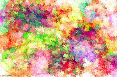 Digital Art - Multi Colored Digital Abstract IIi by Debbie Portwood