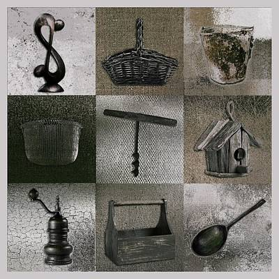 Digital Art - Multi Home Decor - 01v2f4c by Variance Collections