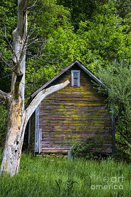 Photograph - Multicolored Barn by Rick Bragan