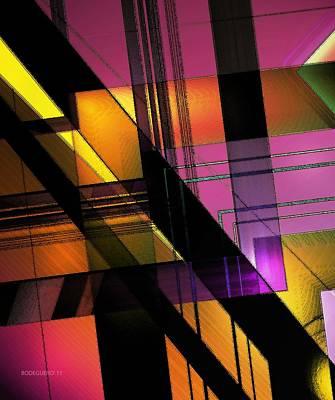 Multicolored Combination Art Art Print by Mario Perez