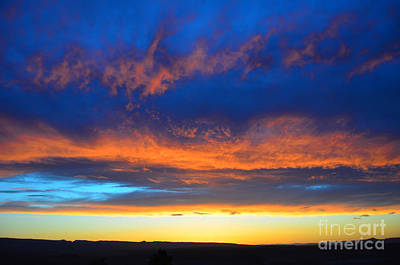 Photograph - Multicolored Sunset by Debra Thompson