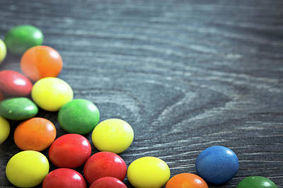 Bright Colours Photograph - Multicoloured Sweets by Wladimir Bulgar