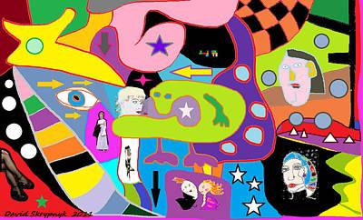 Multifactorialexpoteria Art Print by David Skrypnyk