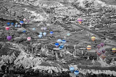 Multiple Balloons Art Print by Ernesto Cinquepalmi