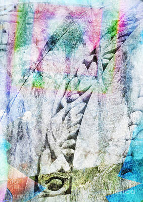 Surrealism Royalty-Free and Rights-Managed Images - Multiple Exposure Abstract by Jonathan Welch