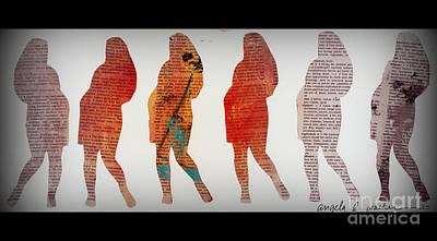 Digital Art - Multiplicity by Angela L Walker