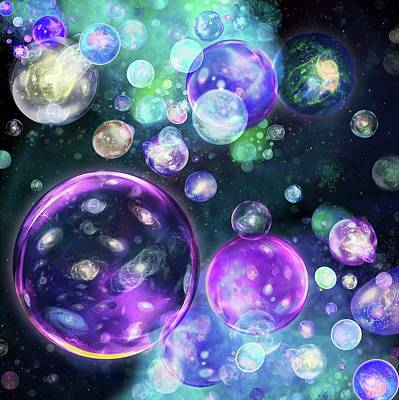 Multiverse Art Print by Harald Ritsch