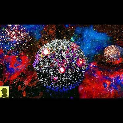 Scifi Photograph - Multiverses Collide by Urbane Alien