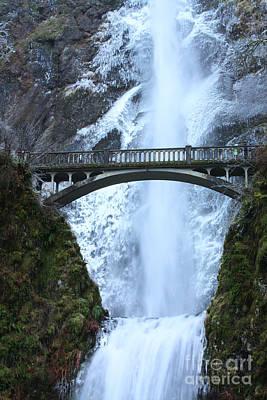 Lucille Ball - Multnomah Falls Bridge by Steven Baier