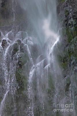 Digital Art - Multnomah Falls Nymph by Georgianne Giese