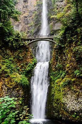 Oregon State Wall Art - Photograph - Multnomah Falls Oregon Waterfalls by Puget  Exposure