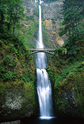 Photograph - Multnomah Falls by Ray Mathis