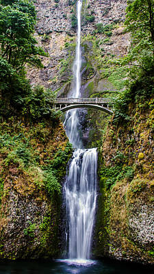 Photograph - Multnomah Falls by Robert Bales