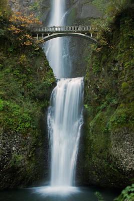 Photograph - Multnomah Falls by Teresa Hunt
