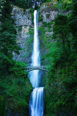 Photograph - Multnomah Falls by Thomas Hall