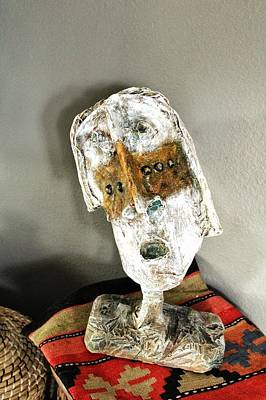 Paper Mache Sculpture - Mum No.6 by Mark M  Mellon