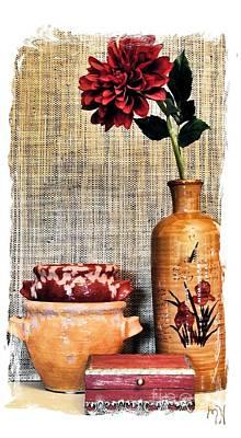 Mum Still Life Art Print by Marsha Heiken