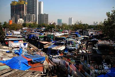 Photograph - Mumbai Contrasts by Jacqueline M Lewis