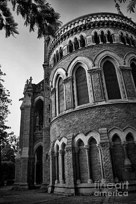 Photograph - Mumbai University Bw by Matthew Naiden