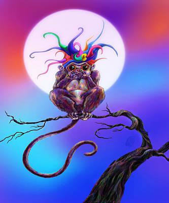 Jester Digital Art - Mumble Evil by Kd Neeley